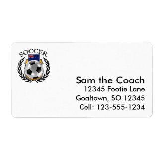 New Zealand Soccer 2016 Fan Gear Label