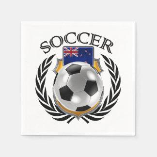 New Zealand Soccer 2016 Fan Gear Napkin