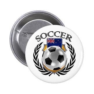 New Zealand Soccer 2016 Fan Gear Pinback Button