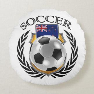 New Zealand Soccer 2016 Fan Gear Round Pillow