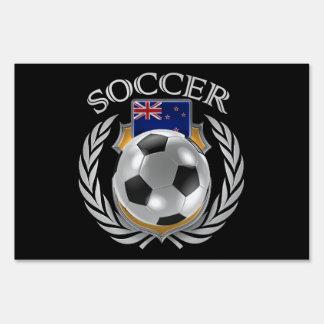 New Zealand Soccer 2016 Fan Gear Sign