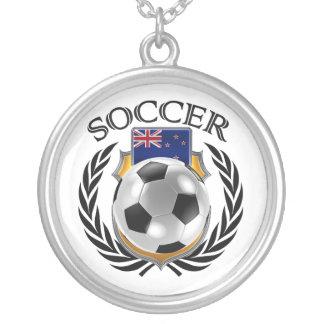 New Zealand Soccer 2016 Fan Gear Silver Plated Necklace