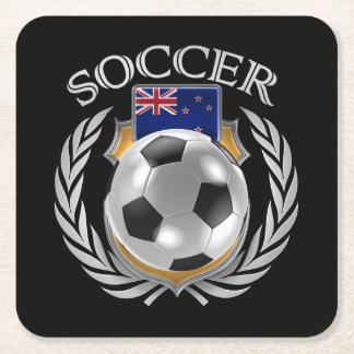 New Zealand Soccer 2016 Fan Gear Square Paper Coaster