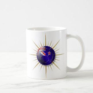New Zealand Soccer All Whites Starburst Coffee Mug