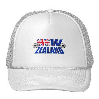 New Zealand Soccer logo NZ 2010 Football flag Trucker Hat