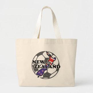 New Zealand Soccer Tote Bag