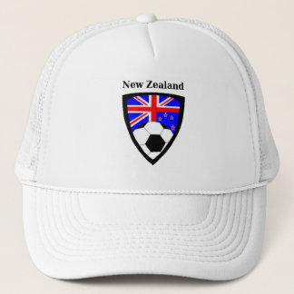 New Zealand Soccer Trucker Hat