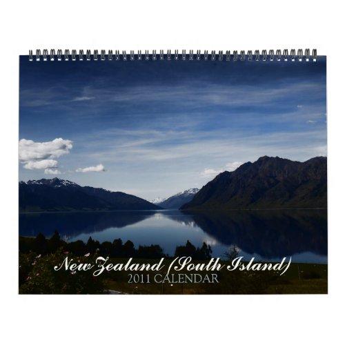 2011 calendar new zealand