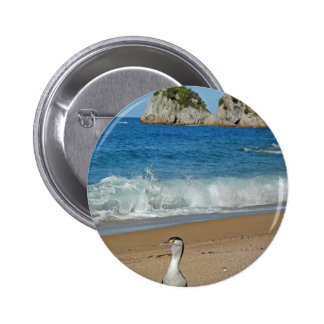 New Zealand South Island Button