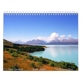New Zealand South Island Calendar