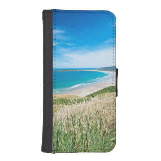 New Zealand, South Island, Catlins, Tautuku Bay Wallet Phone Case For iPhone SE/5/5s