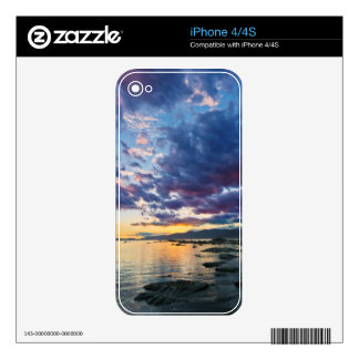 New Zealand, South Island, Kaikoura, South Bay Decal For The iPhone 4
