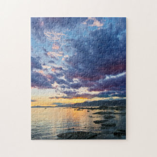 New Zealand, South Island, Kaikoura, South Bay Jigsaw Puzzle