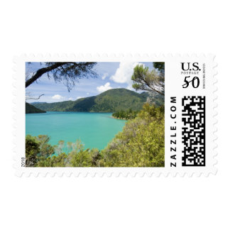 New Zealand, South Island, Marlborough Sounds. Postage
