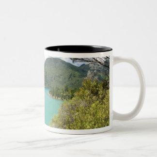 New Zealand, South Island, Marlborough Sounds. Two-Tone Coffee Mug