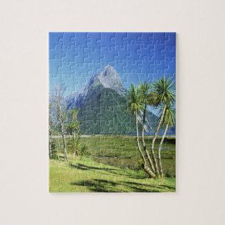 New Zealand, South Island,  Mitre Peak, Jigsaw Puzzle