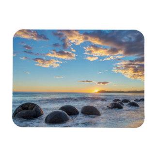New Zealand, South Island, Moeraki Boulders Magnet