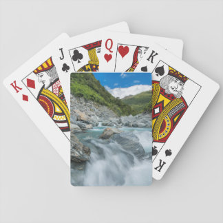 New Zealand, South Island, Mt. Aspiring National Playing Cards