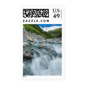 New Zealand, South Island, Mt. Aspiring National Stamp