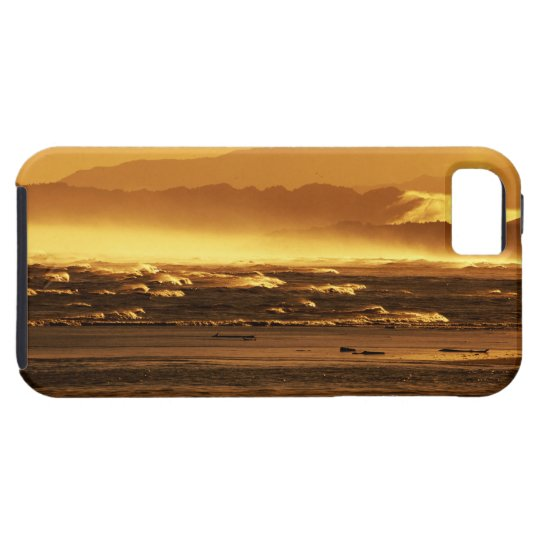 New Zealand, South Island, ocean waves and iPhone SE/5/5s Case