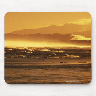 New Zealand, South Island, ocean waves and Mouse Pad