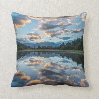 New Zealand, South Island, Westland National Throw Pillow
