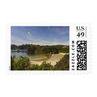 New Zealand, Southland, Stewart Island, Halfmoon Postage Stamp
