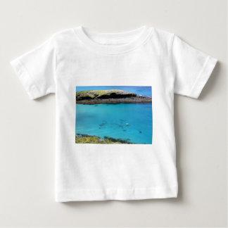 New Zealand Spirits Bay paradise turquoise beach Baby T-Shirt