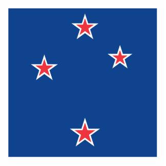 New Zealand Standing Photo Sculpture