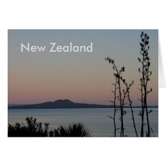 New Zealand Sunrise Card
