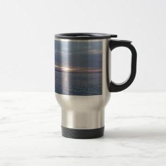 New Zealand Sunset 15 Oz Stainless Steel Travel Mug