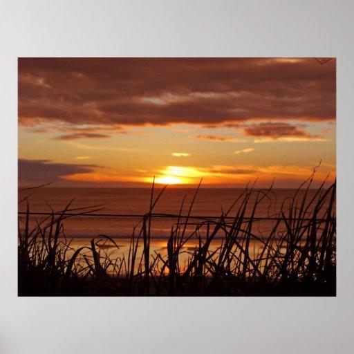 New Zealand Sunset Print