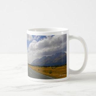 New Zealand: The Road to Aoraki Coffee Mug
