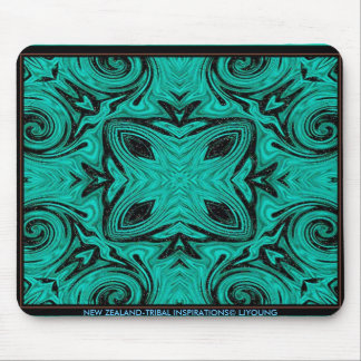 NEW ZEALAND-TRIBAL INSPIRATIONS MOUSE PAD