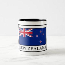 New Zealand Two-Tone Coffee Mug