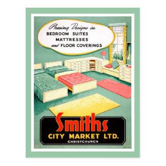 New Zealand Vintage Advertising Poster Postcard