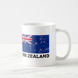 New Zealand Vintage Flag Coffee Mug