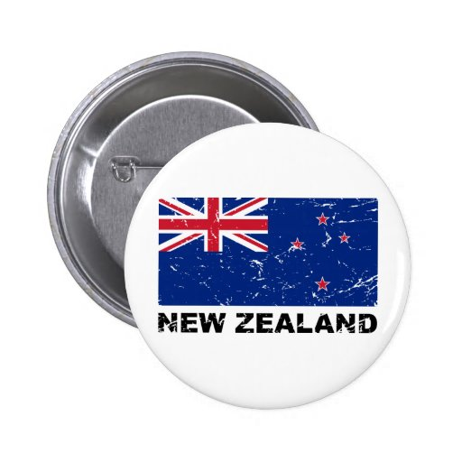 New Zealand Vintage Flag Pins