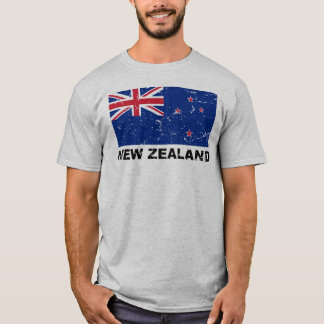 New Zealand Vintage Flag T-Shirt