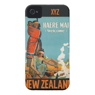 New Zealand vintage travel cases iPhone 4 Covers