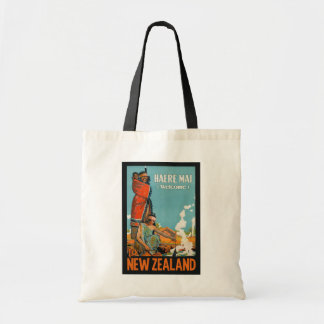 New Zealand vintage travel tote bags