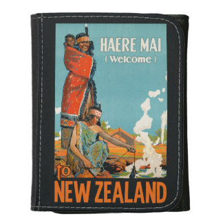 New Zealand vintage travel wallets