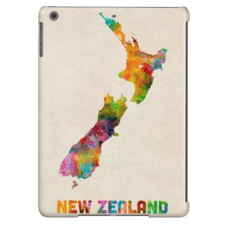 New Zealand, Watercolor Map iPad Air Case