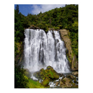 New Zealand Waterfall Postcard