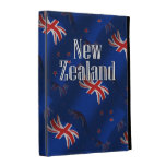 New Zealand Waving Flag iPad Folio Cases