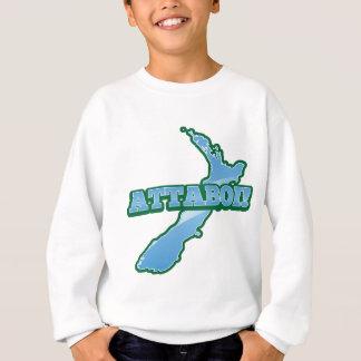 NEW ZEALAND with a map ATTABOI! Sweatshirt