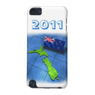 New Zealand with its own flag in 2011 iPod Touch 5G Cover