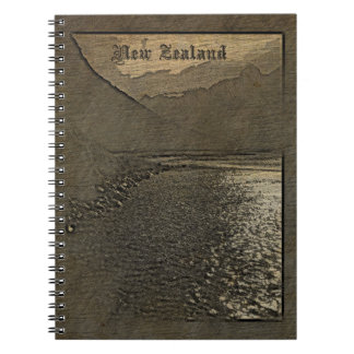 New Zealand Wood Carving Notebook or Travelogue