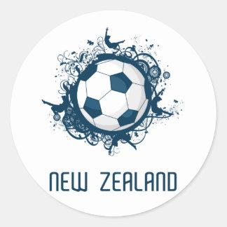 New Zealand World Classic Round Sticker