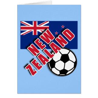 NEW ZEALAND World Soccer Fan Tshirts Card